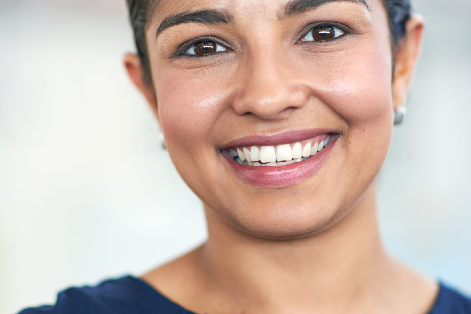 Closeup portrait of an attractive young businesswoman in her office